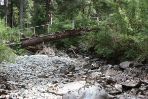After years of drought, some streams are dry for most of the year
