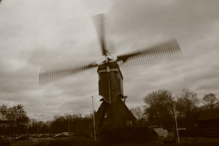 Windmill on the outskirts of Gorinchem