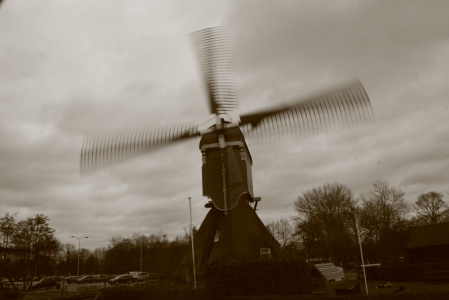 Windmill on the outskirts of Gorinchem